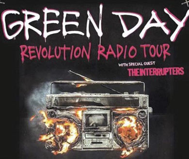 interrupters tour with green day