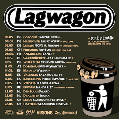 Lagwagon Instagram 2019 NEWS