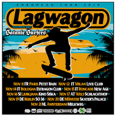 Lagwagon Instagram SatanicSurfers NEWS